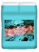 Abstract Oil And Water Duvet Cover