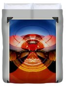 Abstract Old Car Spare Tire Duvet Cover