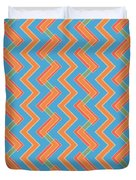 Abstract Orange, Red And Cyan Pattern For Home Decoration Duvet Cover