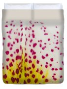 Abstract Orchid Duvet Cover