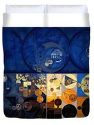 Abstract Painting - Apache Duvet Cover