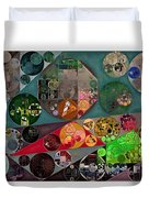 Abstract Painting - Chicago Duvet Cover