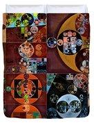 Abstract Painting - Desert Duvet Cover