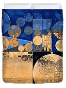 Abstract Painting - Fawn Duvet Cover