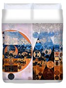 Abstract Painting - Ghost Duvet Cover