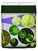 Abstract Painting - June Bud Duvet Cover