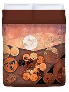 Abstract Painting - Paarl Duvet Cover