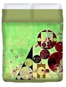 Abstract Painting - Reef Duvet Cover