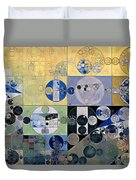 Abstract Painting - Sisal Duvet Cover