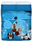 Abstract Painting - Spray Duvet Cover