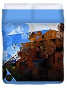 Abstract Painting - Spring 2015 Duvet Cover