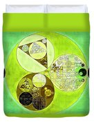 Abstract Painting - Sulu Duvet Cover