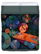 Abstract Painting - Tango Duvet Cover