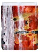 Abstract Painting Untitled #45 Duvet Cover