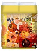Abstract Painting - West Side Duvet Cover