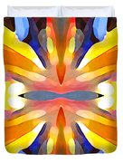 Abstract Paradise Duvet Cover