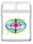 Abstract Pen Drawing Thirty-one Duvet Cover