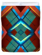 Abstract Photomontage No 3 Duvet Cover