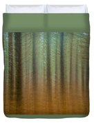 Abstract Pines Duvet Cover