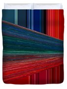Abstract Pipeline Duvet Cover