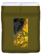 Abstract Pour Duvet Cover by Sonya Wilson