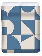 Abstract Puzzle Duvet Cover