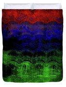 Abstract Rainbow Duvet Cover