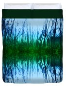Abstract Reeds No. 1 Duvet Cover