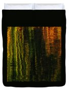 Abstract Reeds Triptych Bottom Duvet Cover