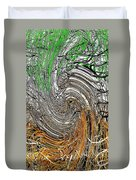 Abstract Reeds Duvet Cover