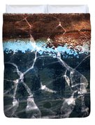 Abstract Reflection Duvet Cover