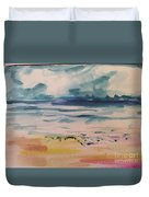 Abstract Seascape Duvet Cover