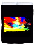 Abstract Sky Duvet Cover