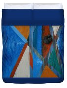Abstract Space Duvet Cover