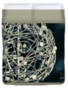 Abstract Sphere Duvet Cover by Todd Blanchard