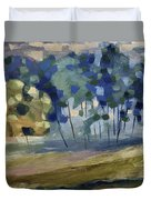Abstract, Spring Duvet Cover