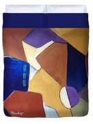 Abstract Square  Duvet Cover