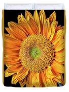 Abstract Sunflower Duvet Cover