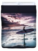 Abstract Surfer Duvet Cover