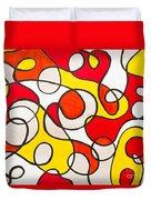 Abstract Swirls Duvet Cover