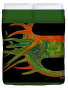 Abstract Tenticles Duvet Cover