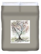 Abstract Tree Duvet Cover