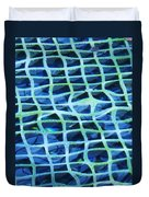 Abstract Underwater Duvet Cover