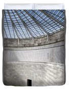 Abstract View Of The Central Tower Door With Skylight And Names  Duvet Cover