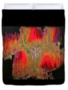 Abstract Visuals - The Sizzle Factor Duvet Cover