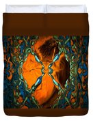 Abstract Visuals - Restructured Interior Duvet Cover