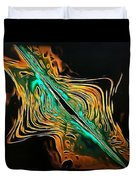 Abstract Visuals - A Tear In The Fabric Of Time Duvet Cover
