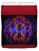 Abstract Visuals - Quantum Mechanical Headache Duvet Cover