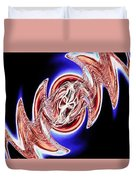 Abstract Visuals - The Song Inside My Head Duvet Cover