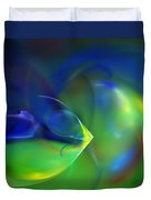 Abstract Water World 040411 Duvet Cover